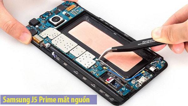 Sửa lỗi Samsung J5 Prime hao nguồn đột ngột