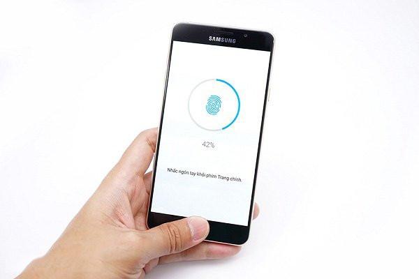Sửa lỗi cảm biến vân tay Samsung A7 2018