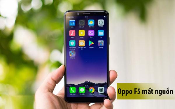 Sửa Oppo f5 mất nguồn chập chờn
