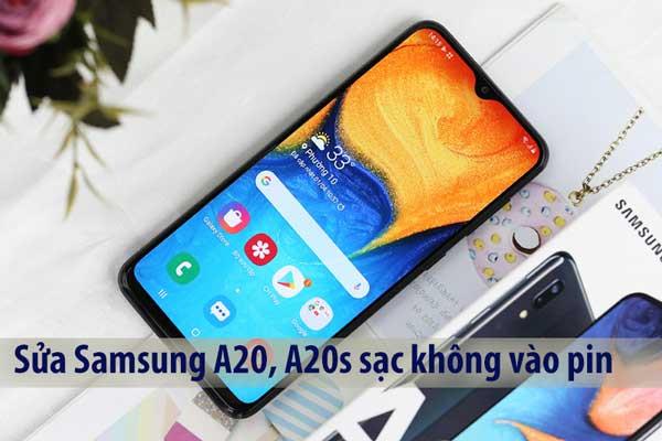 Sửa lỗi Samsung Galaxy A20, A20s sạc không vào pin