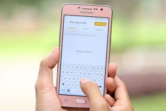 Sửa lỗi điện thoại Samsung J2 Prime bị loạn cảm ứng