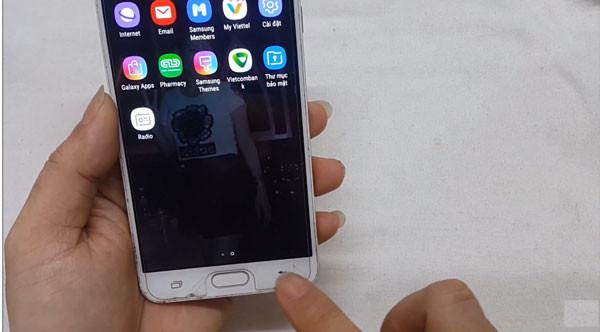 Hướng dẫn Fix, sửa lỗi Samsung Galaxy J7 Prime, J7Pro liệt phím trở về