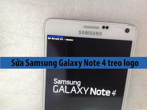 Samsung Galaxy Note 4 treo logo, treo máy khắc phục như nào?