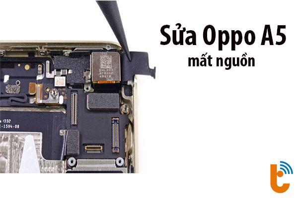 Sửa oppo a5s mất nguồn treo kim thành công 100%