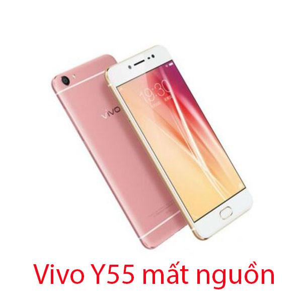 Sửa Vivo Y55 mất nguồn, sập nguồn
