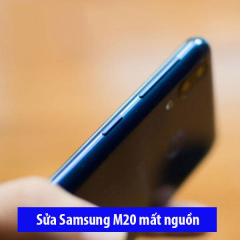 Sửa Samsung M20 mất nguồn chập chờn