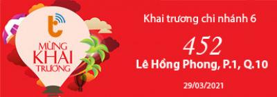 Banner quảng cáo từ Thành Trung Mobile