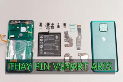 Thay pin Vsmart Aris, Aris Pro