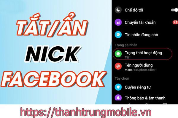 Hướng dẫn cách ẩn nick Facebook khi đang online