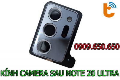 Thay mặt kính camera sau Galaxy Note 20 Ultra