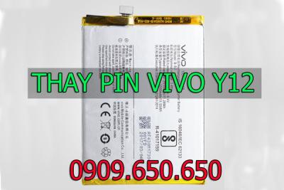 Thay pin Vivo Y12