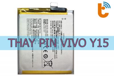 Thay pin Vivo Y15