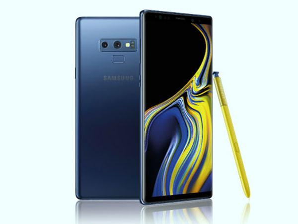 Sửa lỗi cảm biến vân tay Samsung Note 9