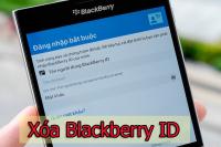 Xóa tài khoản BlackBerry ID