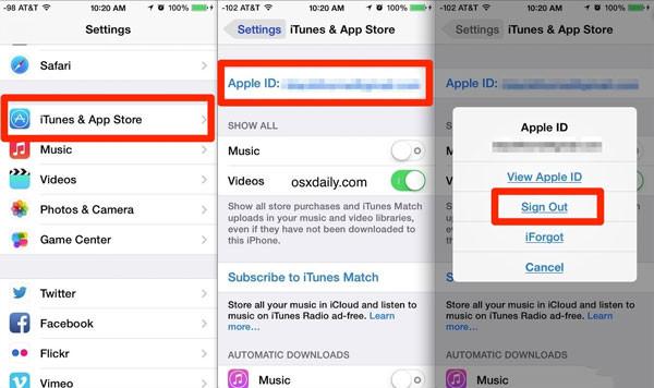 Bạn đã biết cách đổi ID Apple trên iPhone sang tài khoản khác?