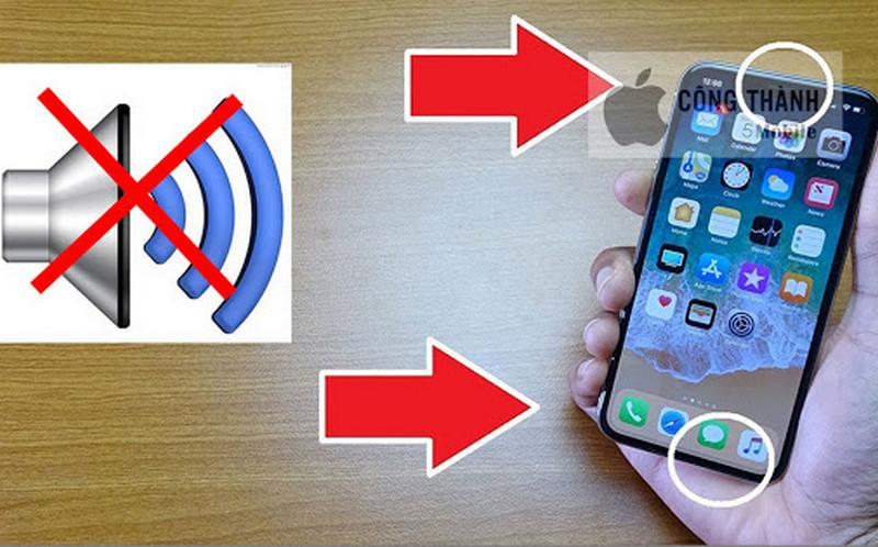 Vì sao iPhone X bị mất âm thanh? Khắc phục bằng cách nào?