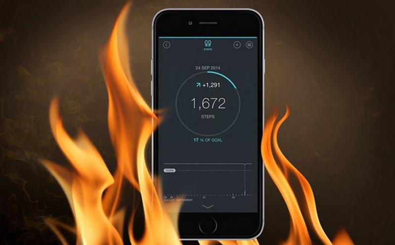 iPhone Xr bị nóng máy