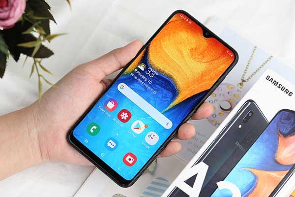 Sửa Samsung A20 liệt cảm ứng