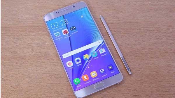 Sửa Samsung Note 5 sạc không vào pin