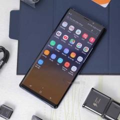 Sửa lỗi màn hình xanh Samsung Note 9
