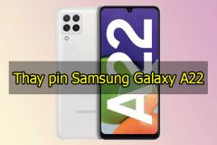 Thay pin Samsung Galaxy A22
