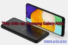Thay chân sạc Samsung Galaxy A03s