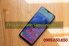 Thay mặt kính Samsung Galaxy A03s