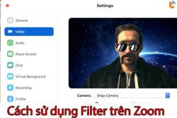 Hướng dẫn cách sử dụng Filter trên Zoom trên điện thoại, máy tính để thay đổi màn hình & khuôn mặt