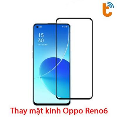Thay mặt kính Oppo Reno6 Z