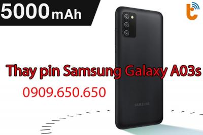Thay pin Samsung Galaxy A03s