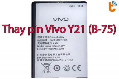 Thay pin Vivo Y21