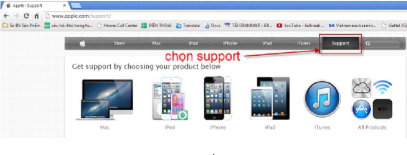 Hướng dẫn kiểm tra bảo hành Apple