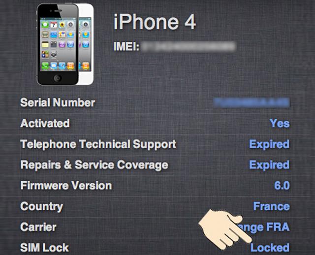 Cách kiểm tra iPhone 5s bản quốc tế