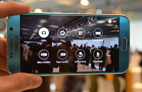 Samsung Galaxy S6 lỗi camera