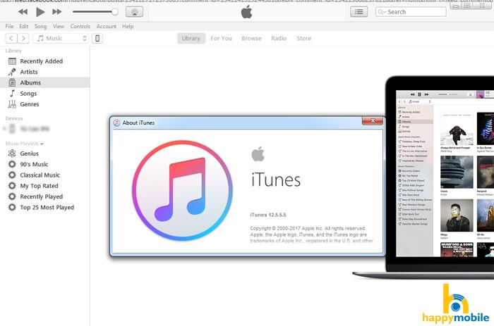 Download iTunes phien bản mới nhất