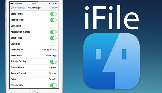 Hướng dẫn cài iFile cho iPhone thành công 100%