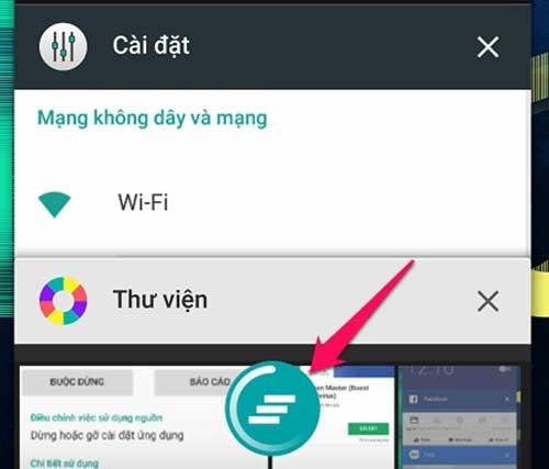 cách tắt ứng dụng chạy ngầm Android nhanh chóng - bước 2