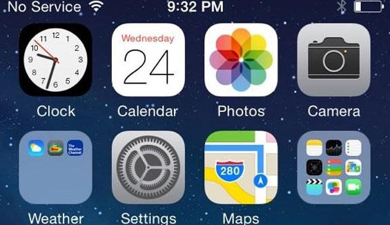 Xử lý lỗi iPhone báo không có dịch vụ thành công 100%
