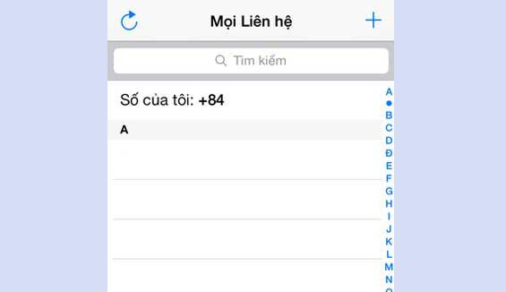 Cách khắc phục danh bạ iPhone 7 Plus không hiện tên dễ dàng