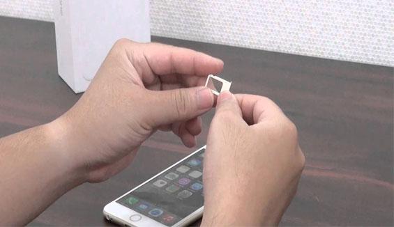 Điện thoại iPhone 6s lock không nhận sim phải làm thế nào?