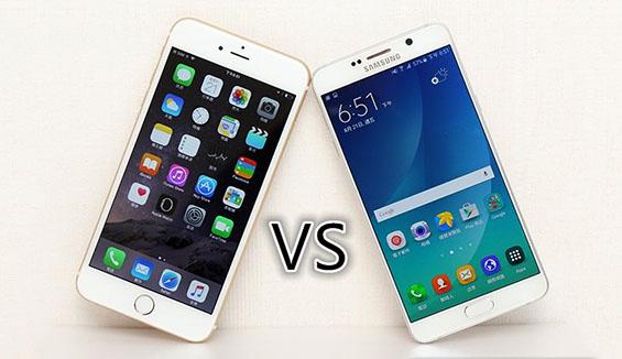 So sánh camera iPhone 6S và Galaxy Note 5
