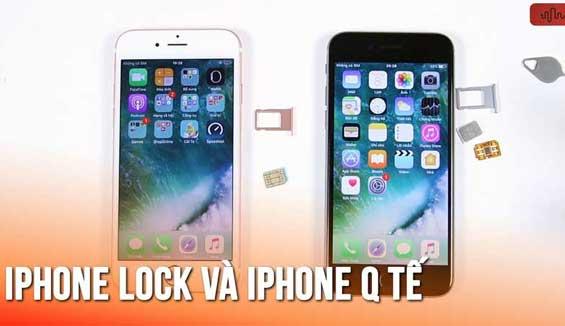 Khái niệm iPhone 7 Plus Lock là gì? Cần chú ý gì khi mua?