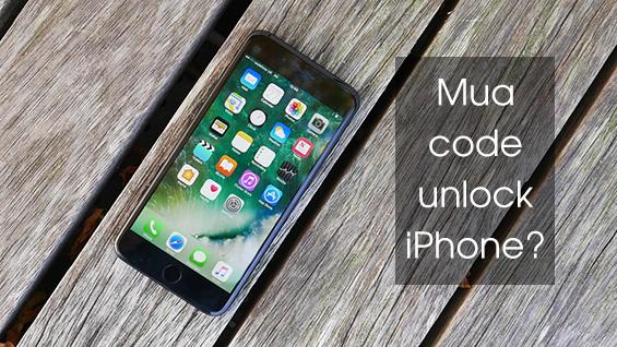 iPhone Lock nhà mạng nào có thể mua code unlock?