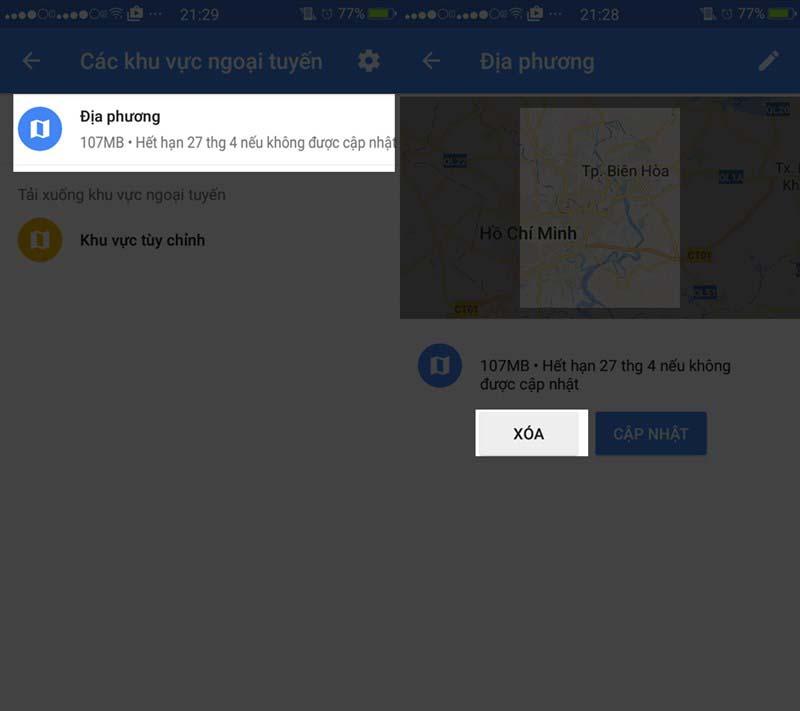 tăng bộ nhớ trong điện thoại Android - cách 5