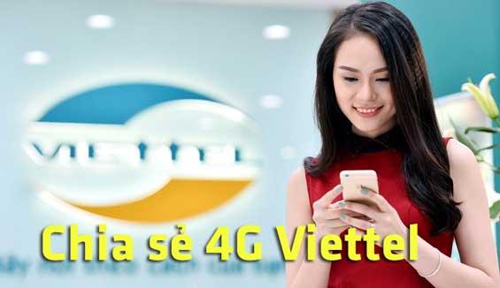 Viettel cập nhật tính năng chia sẻ Data 4G Viettel cho người khác, bạn đã biết?