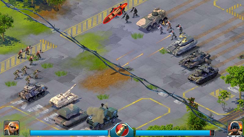 game chiến thuật World at Arms cho Android