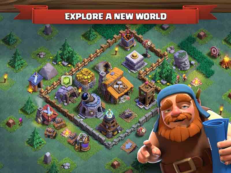 game chiến thuật Clash of Clans cho Android
