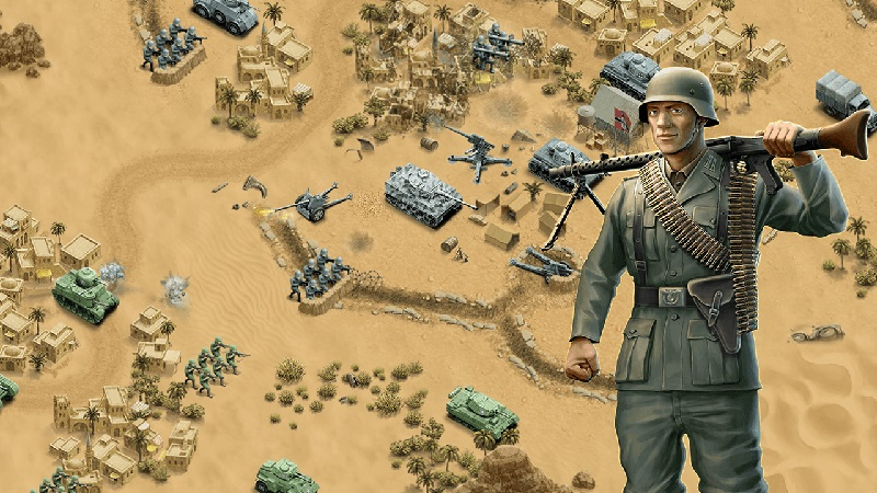 game chiến thuật 1943 Deadly Desert cho Android