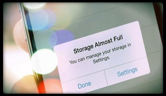 iPhone bị lỗi đầy bộ nhớ - Cách khắc phục như thế nào