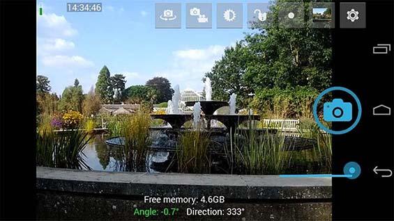 05 Ứng dụng chụp ảnh cho Android đẹp nhất